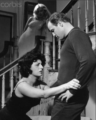 Anna Magnani e Marlon Brando