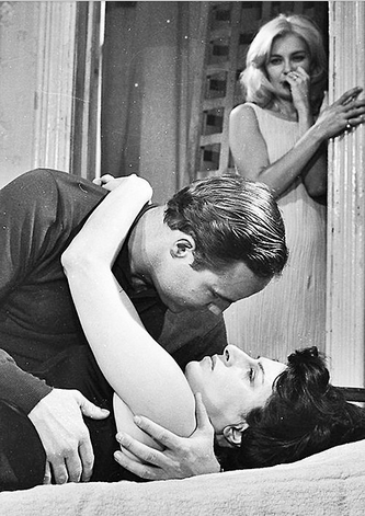 Marlon Brando, Anna Magnani and Joanne Woodward in The Fugitive Kind, 1960