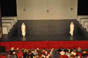 Sono le 19 del sabato: si comincia - Foto dalla 24 ore di Mount Olympus al Teatro Argentina di Roma sabato 17 e domenica 18 ottobre 2015