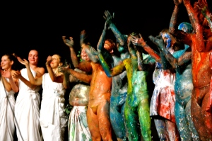 Ok, vediamo cosa si inventerà la prossima volta Jan Fabre - Foto dalla 24 ore di Mount Olympus al Teatro Argentina di Roma sabato 17 e domenica 18 ottobre 2015