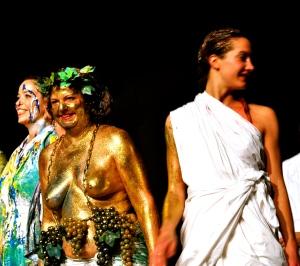 Foto dalla 24 ore di Mount Olympus al Teatro Argentina di Roma sabato 17 e domenica 18 ottobre 2015