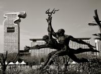 Nell'area dello Stadio Olimpico